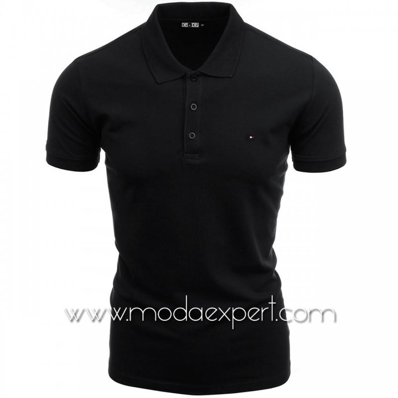 Мъжка тениска с яка №C7263-B