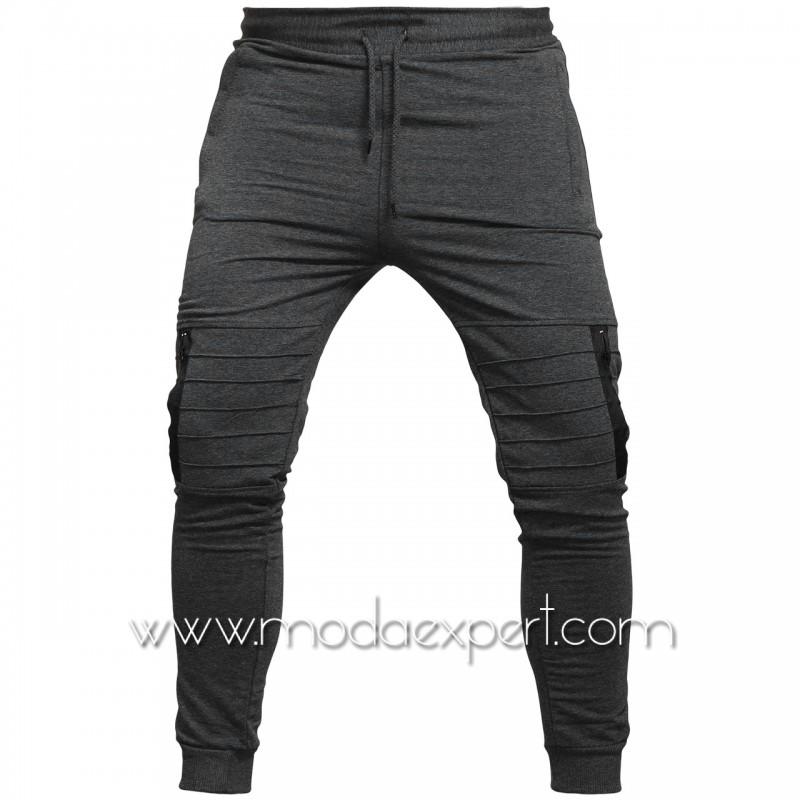 Мъжко долнище с джобове BS015A