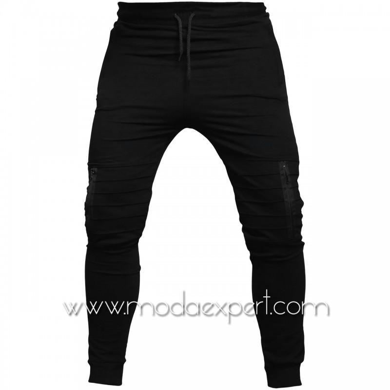 Мъжко долнище с джобове BS015B