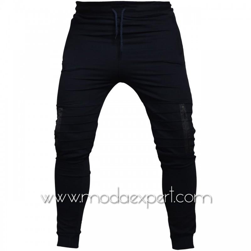 Мъжко долнище с джобове BS015DBL