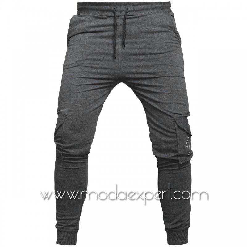 Мъжко долнище с джобове BS059A