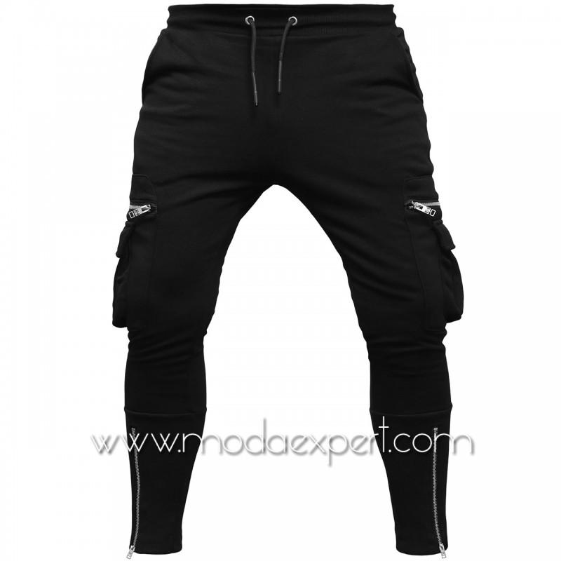 Мъжко долнище с джобове E20-K469B