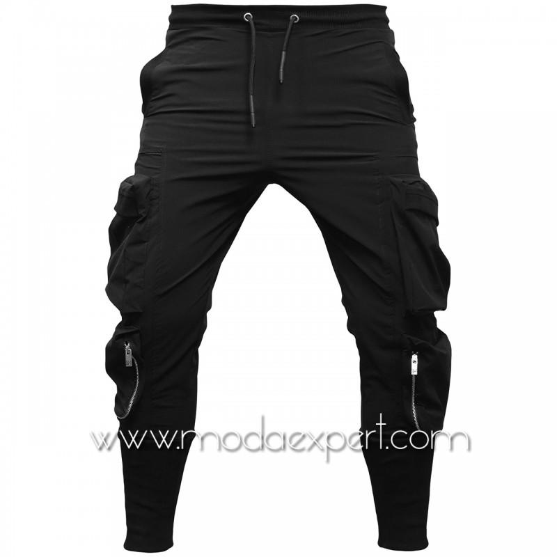 Мъжко долнище с джобове E21-Y249B