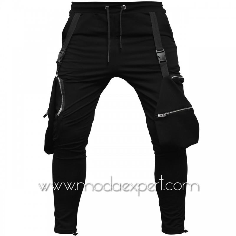Мъжко долнище с джобове E21-Y429B