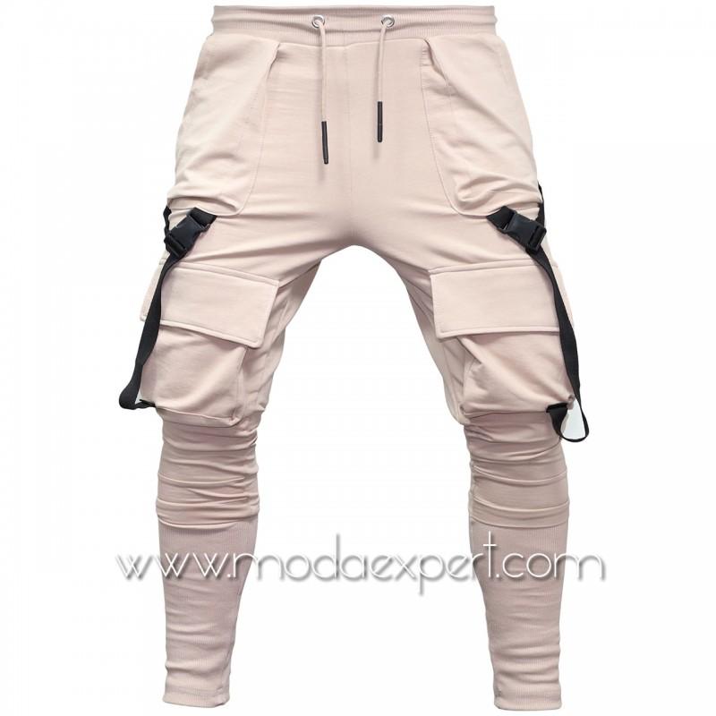 Мъжко долнище с джобове E21-Y437BE
