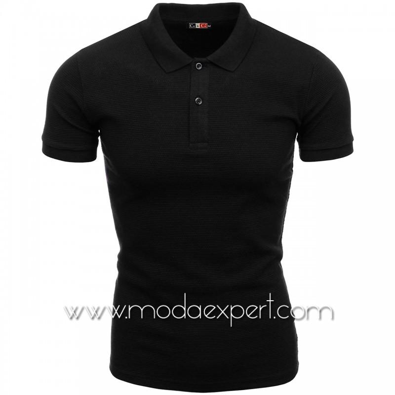 Мъжка тениска с яка №C1004-B