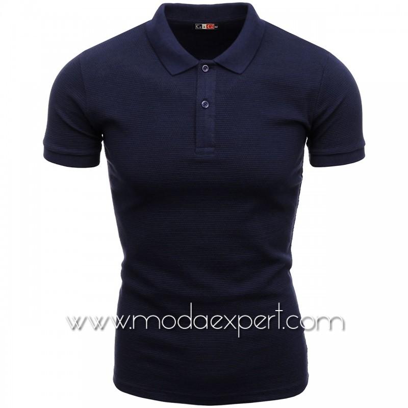 Мъжка тениска с яка №C1004-S