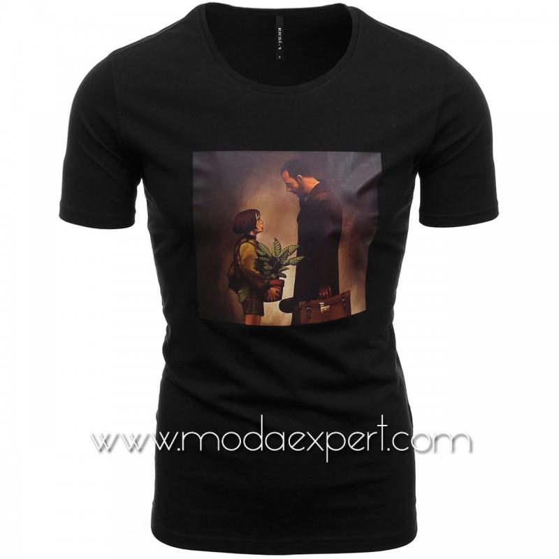 Мъжка тениска с щампа №E210-B