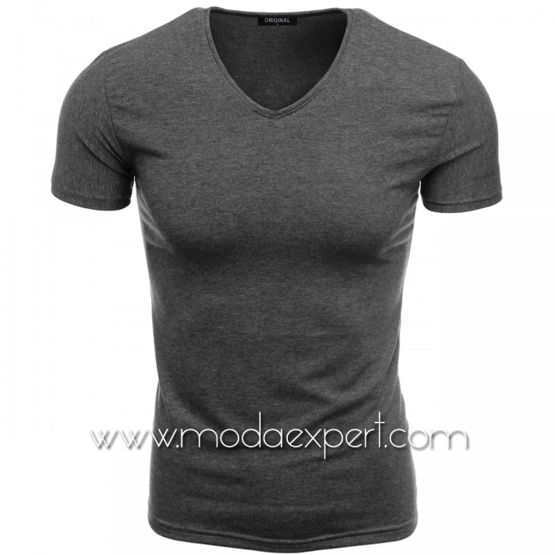 Тениска с V-образно деколте F90-A