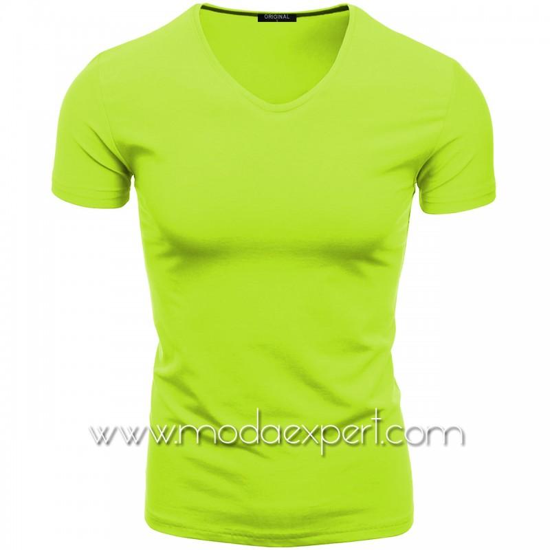 Тениска с V-образно деколте F90-NGR