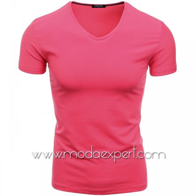 Тениска с V-образно деколте F90-F