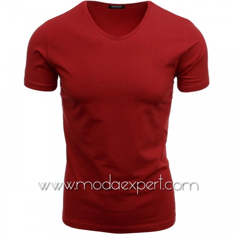 Тениска с V-образно деколте F90-R