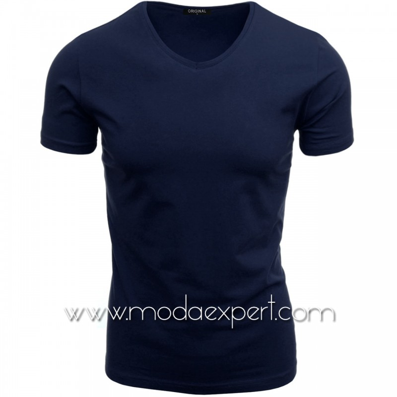 Тениска с V-образно деколте F90-DBL