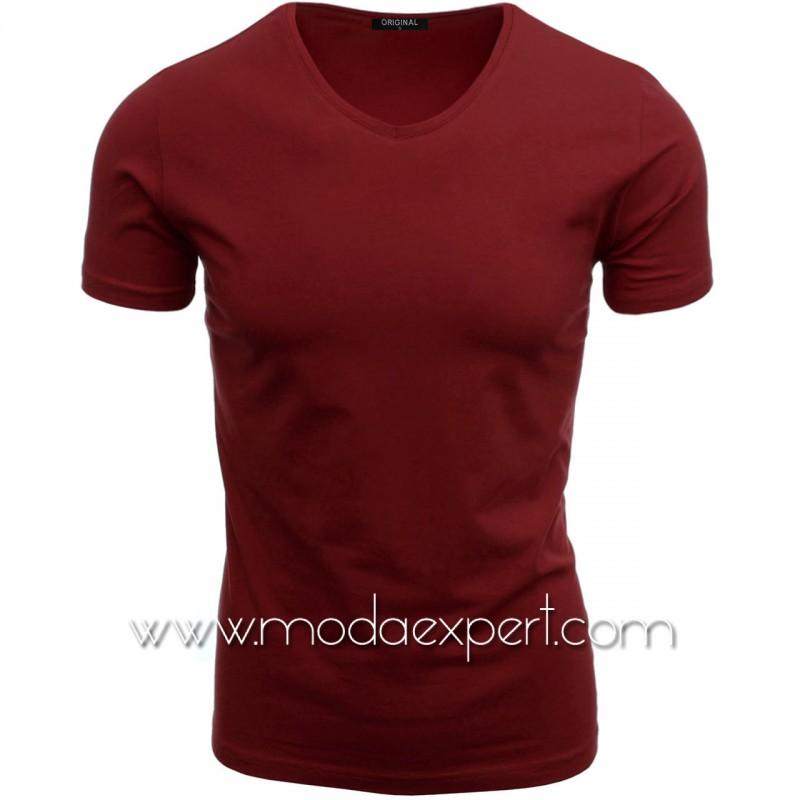 Тениска с V-образно деколте F90-SC