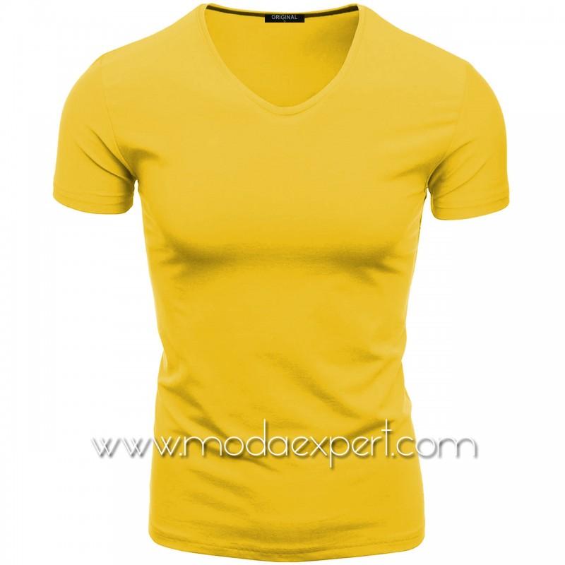 Тениска с V-образно деколте F90-Y