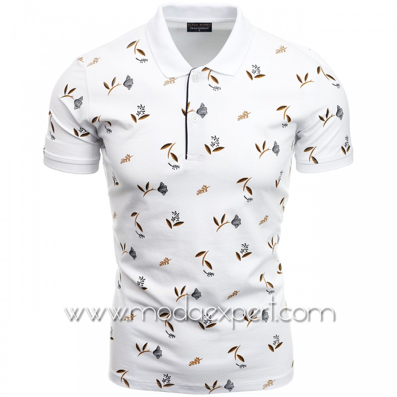 Флорална мъжка тениска BM1339W
