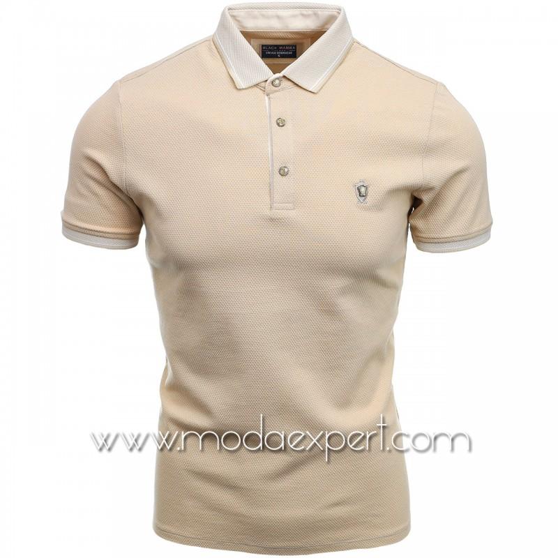 Мъжка тениска с яка BM1465BE