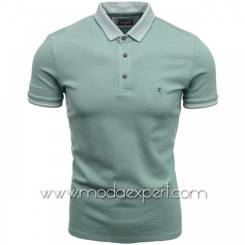 Мъжка тениска с яка BM1465MI