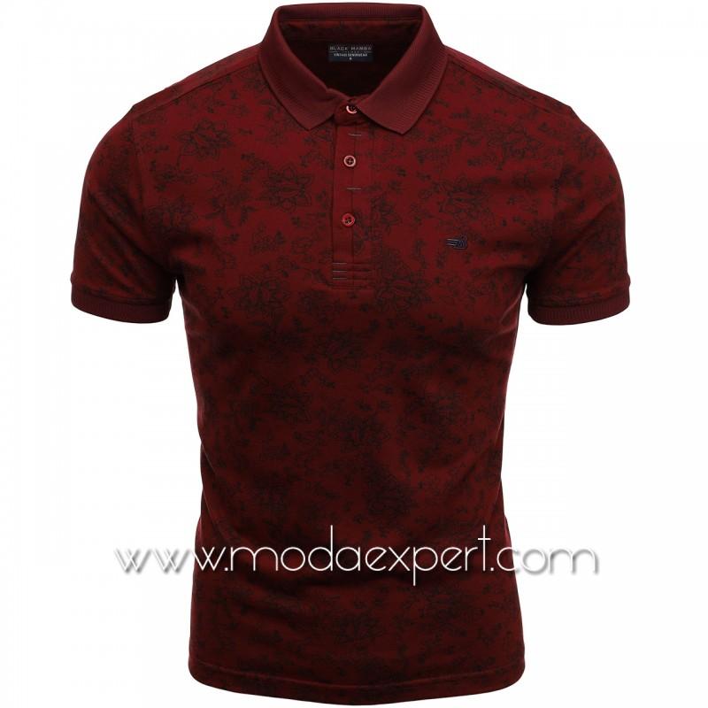 Флорална мъжка тениска BM2301BU