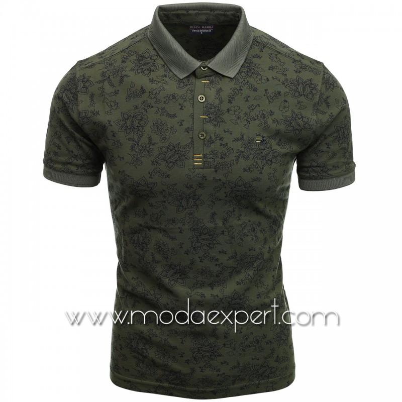Флорална мъжка тениска BM2301K