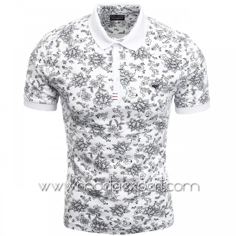 Флорална мъжка тениска BM2301W