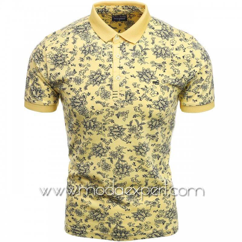 Флорална мъжка тениска BM2301Y
