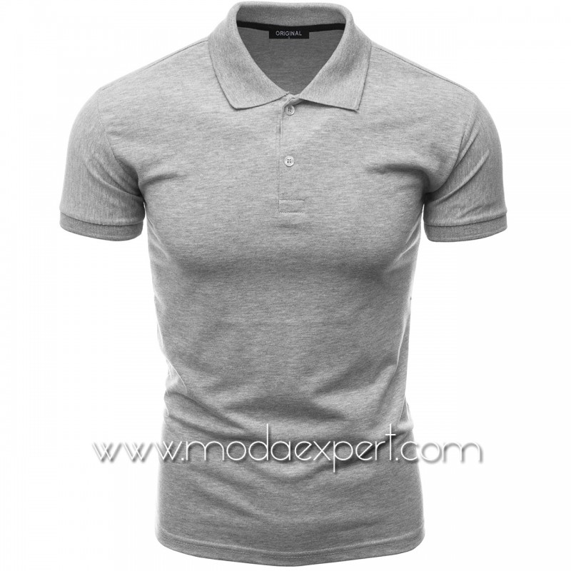 Мъжка тениска с яка F10-G