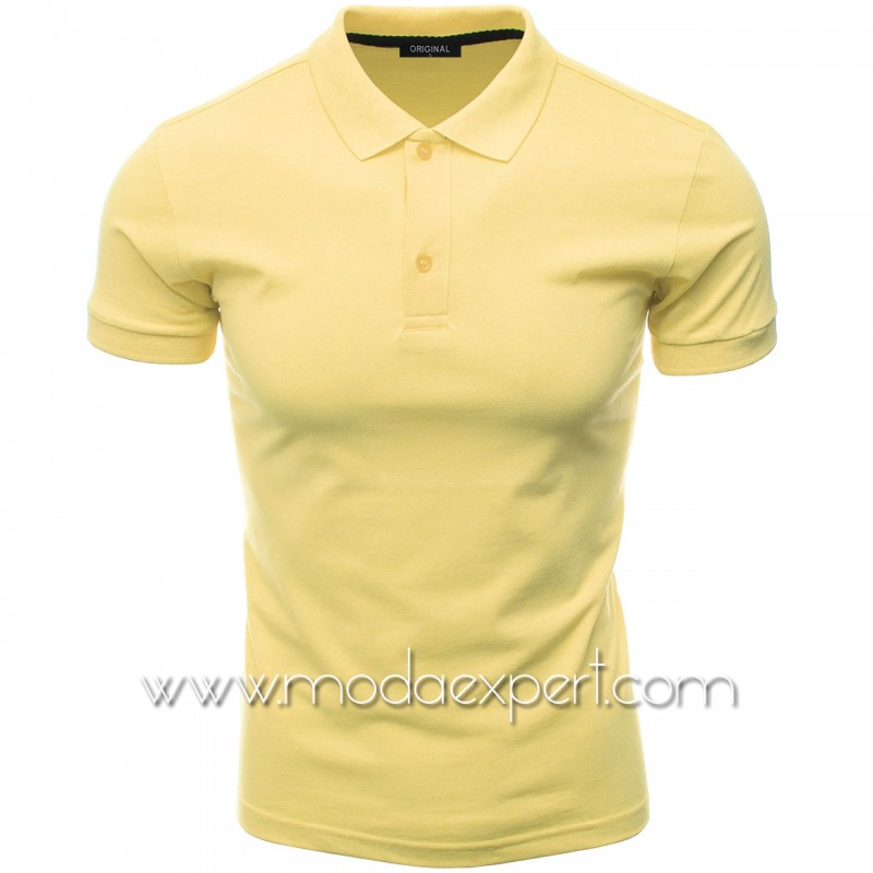 Мъжка тениска с яка F10-LY