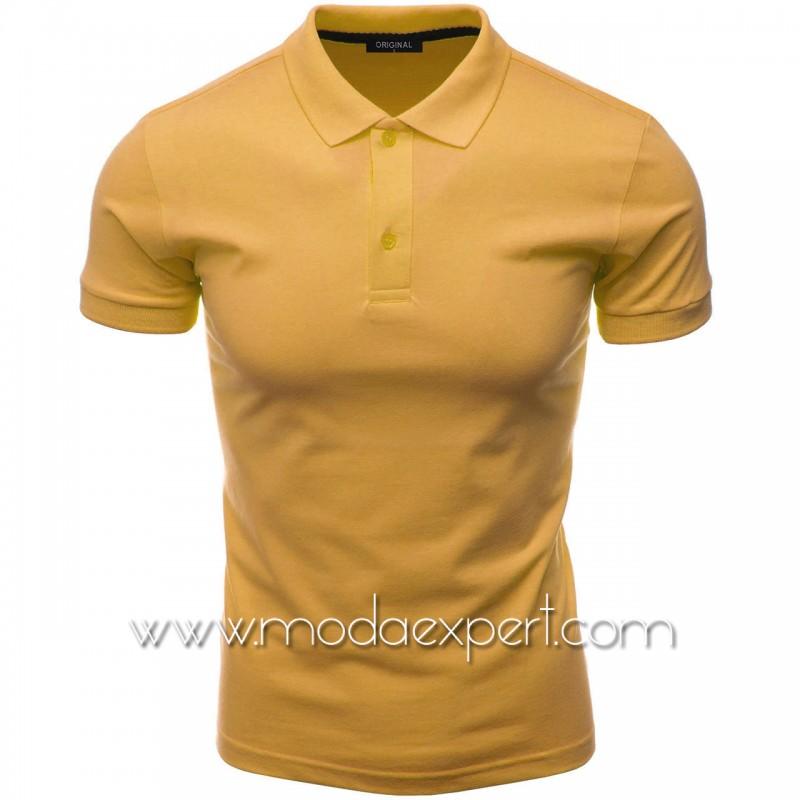 Мъжка тениска с яка F10-M