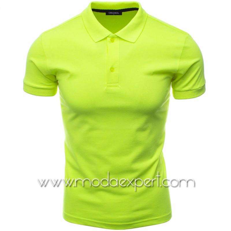 Мъжка тениска с яка F10-NGR