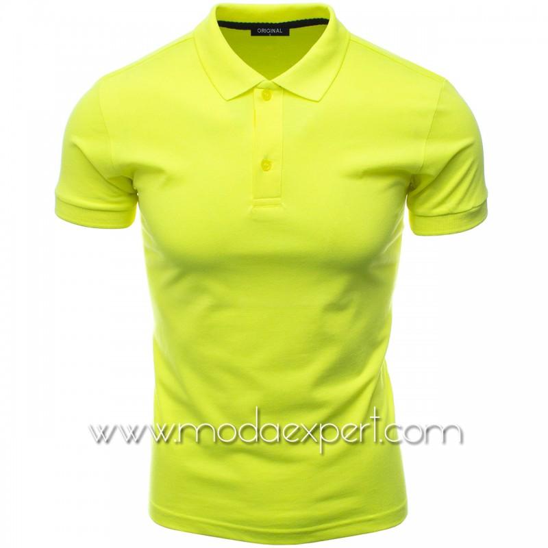 Мъжка тениска с яка F10-NY