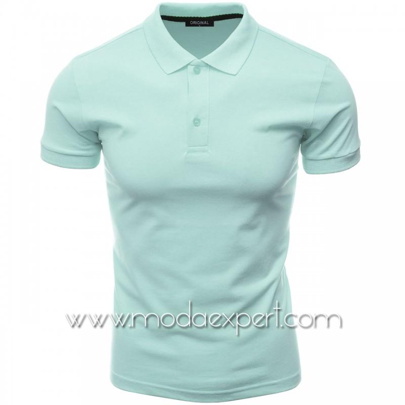 Мъжка тениска с яка F10-PTU