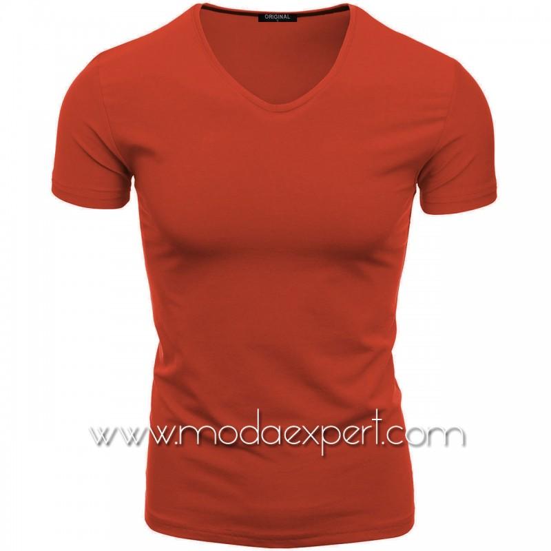 Тениска с V-образно деколте F90-O