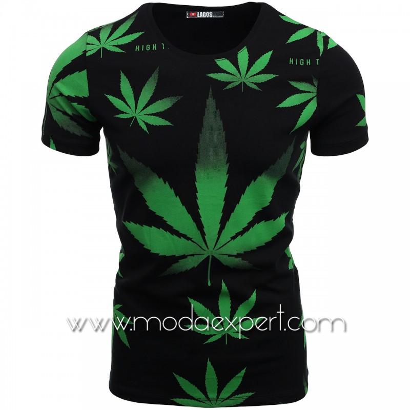 Мъжка тениска с щампи L20630B