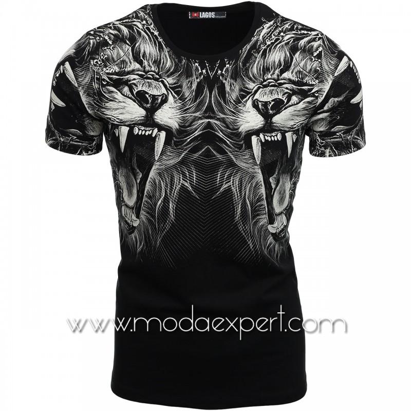 Мъжка тениска с щами L20702B