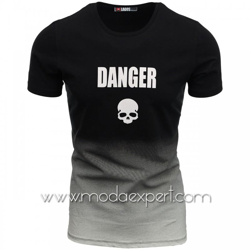 Мъжка преливаща тениска L20761B