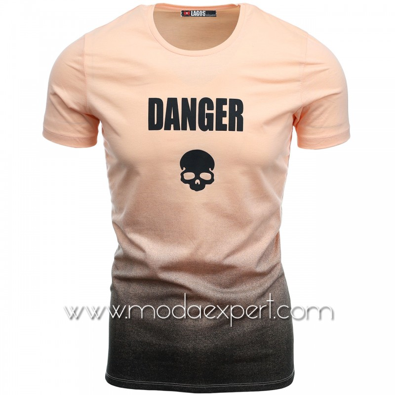 Мъжка преливаща тениска L20761PD