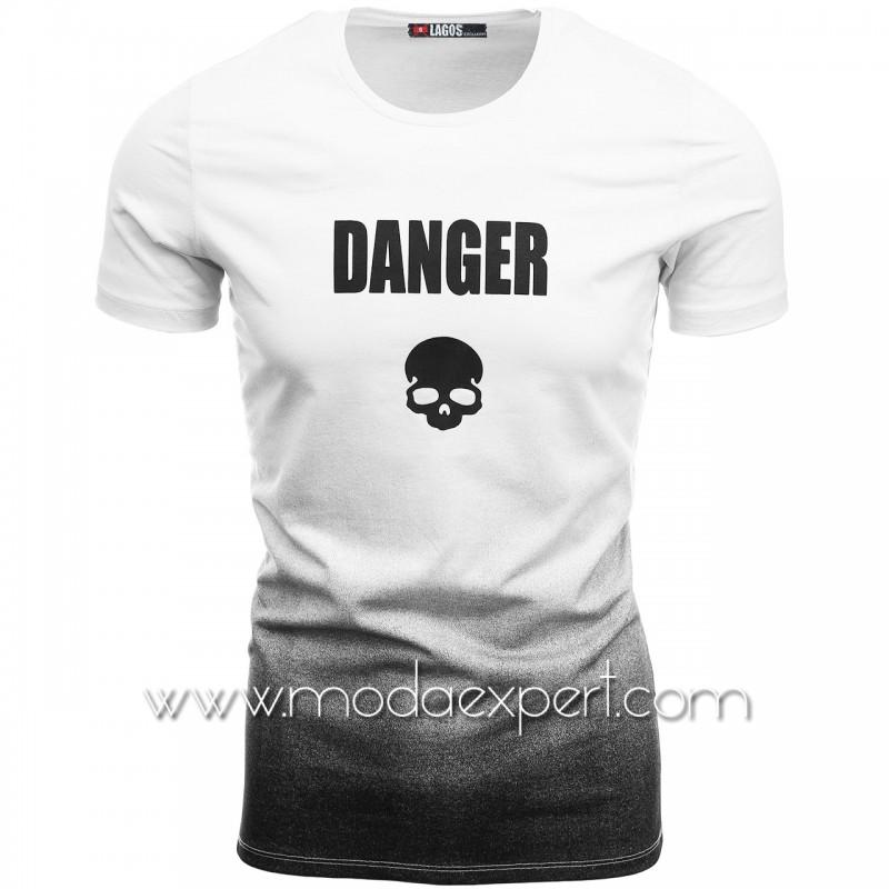 Мъжка преливаща тениска L20761W