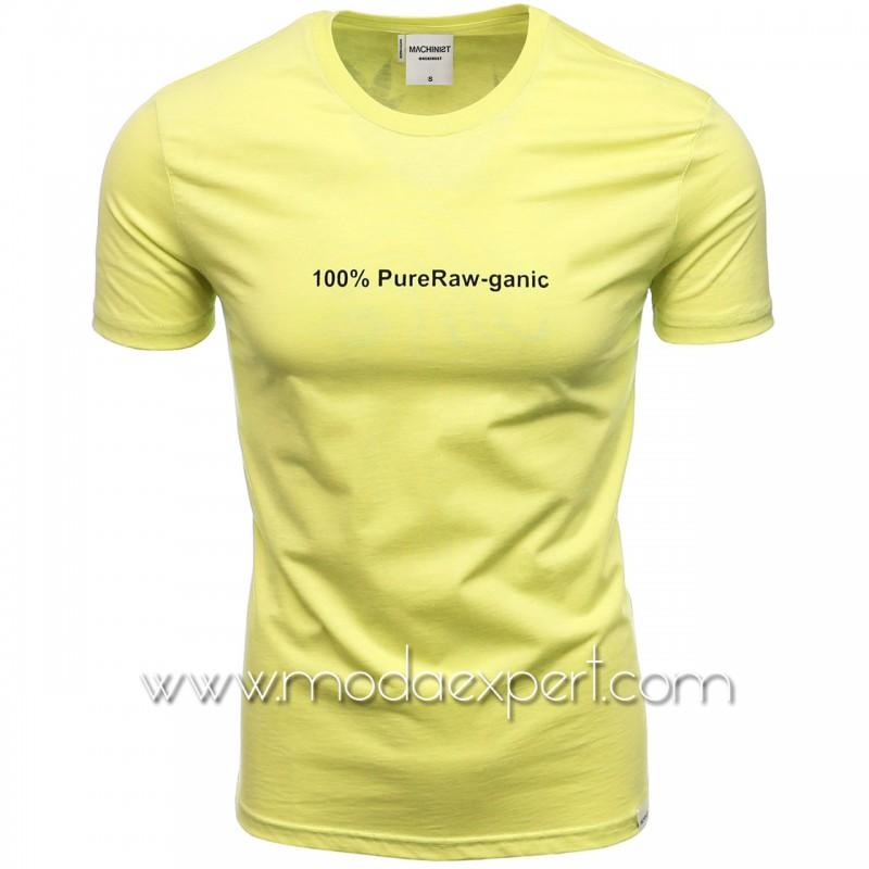 Мъжка тениска с щампи M1222-NY