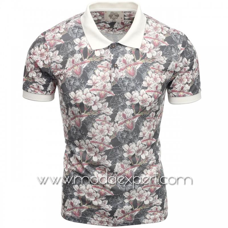 Флорална мъжка тениска P8600A