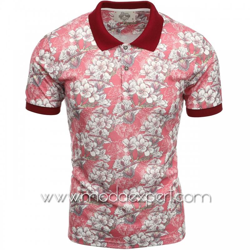 Флорална мъжка тениска P8600BU