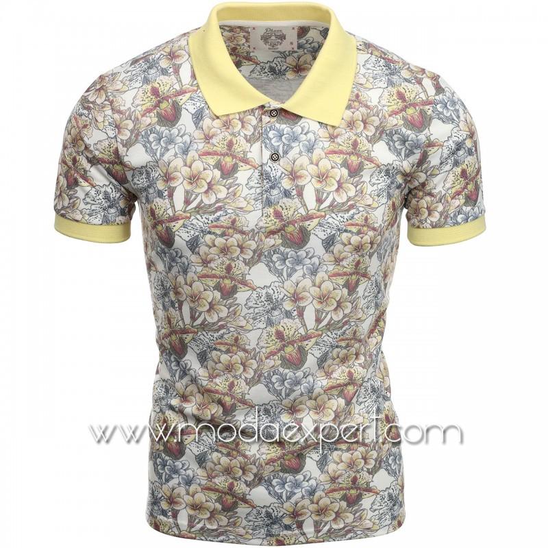 Флорална мъжка тениска P8600E