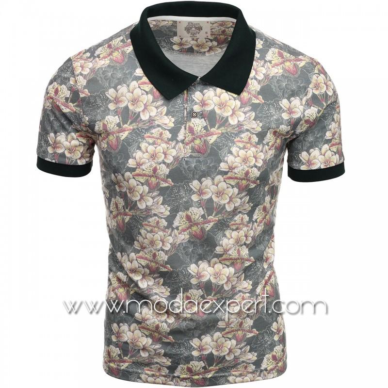 Флорална мъжка тениска P8600GR