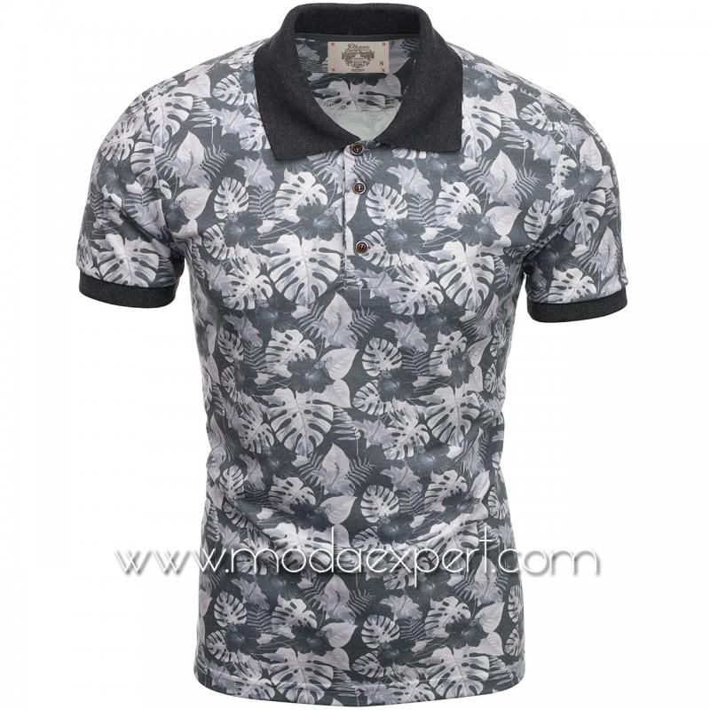 Флорална мъжка тениска P8602А
