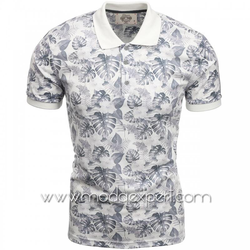 Флорална мъжка тениска P8602E