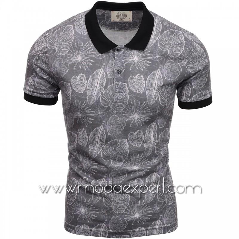 Флорална мъжка тениска P8606А