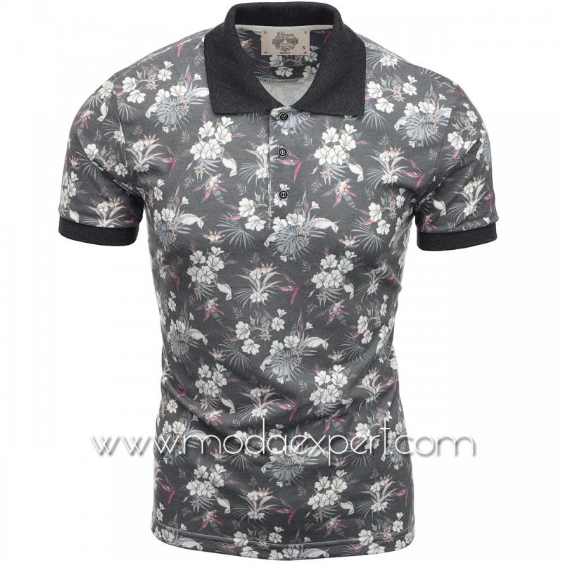 Флорална мъжка тениска P8607А