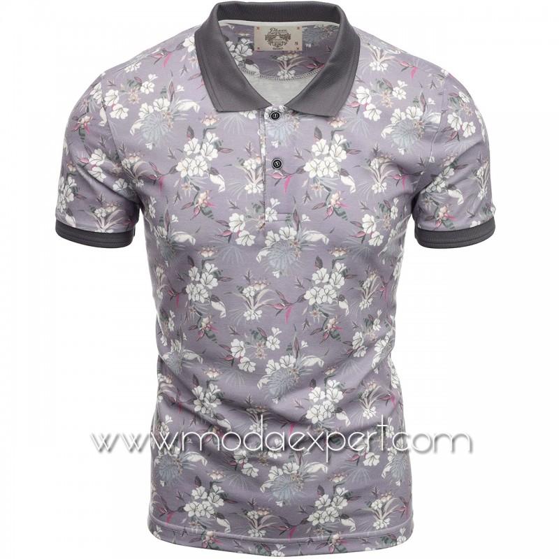 Флорална мъжка тениска P8607P
